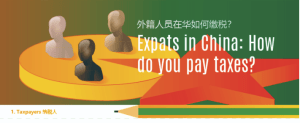 How do expats pay taxes in China?