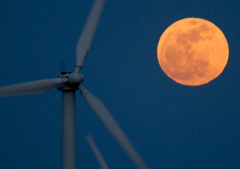 Next Supermoon (Photo by David McNew/Getty Images)