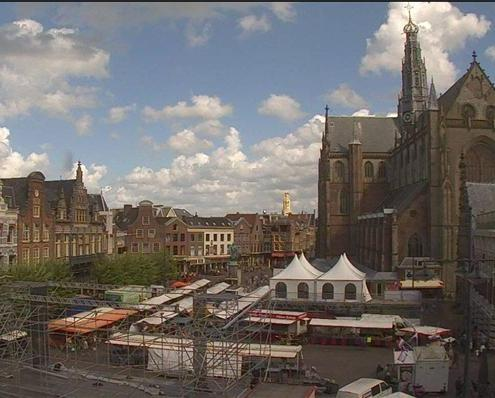 Haarlem gets ready for Jazz & More (Photo: Ad Timmers)