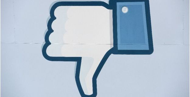 Dislike button (Getty images)