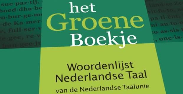 Groene boekje Dutch Language
