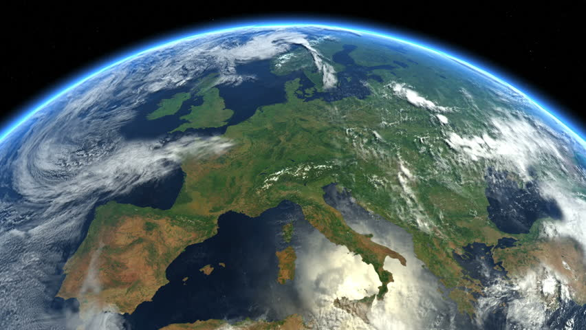 http://www.shutterstock.com/video/clip-11747741-stock-footage-europe-seen-from-space-videos-in-file-highly-detailed-animation-of-the-earth-seen-from-space.html