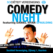 expatsHaarlem Comedy Night