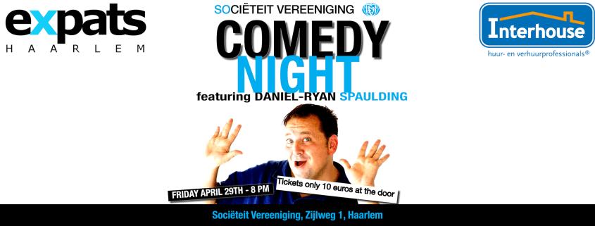 expatsHaarlem Comedy Night