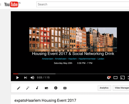 ExpatsHaarlem Housing Event 2017