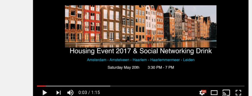 ExpatsHaarlem Housing Event 2017