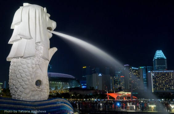 Merlion Photo credit: Tatyana Kildisheva