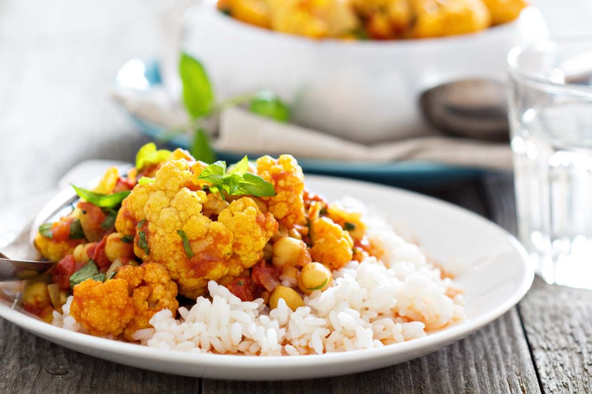 Indian Coconut Cauliflower