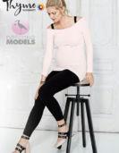 Pregnant Model-