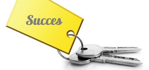 sleutel naar succes