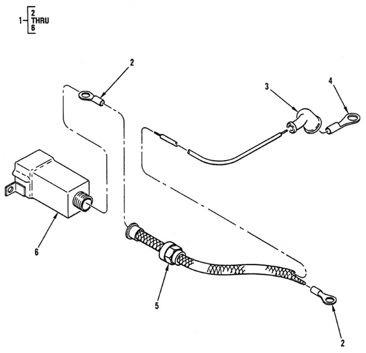 0107 00-2 Figure 106. Hull or Chassis Wiring Harness