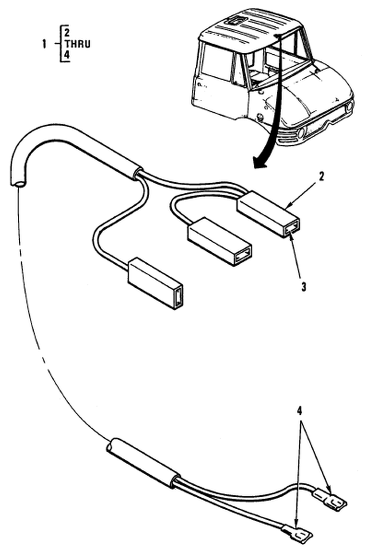0090 00-2 Figure 89. Hull or Chassis Wiring Harness