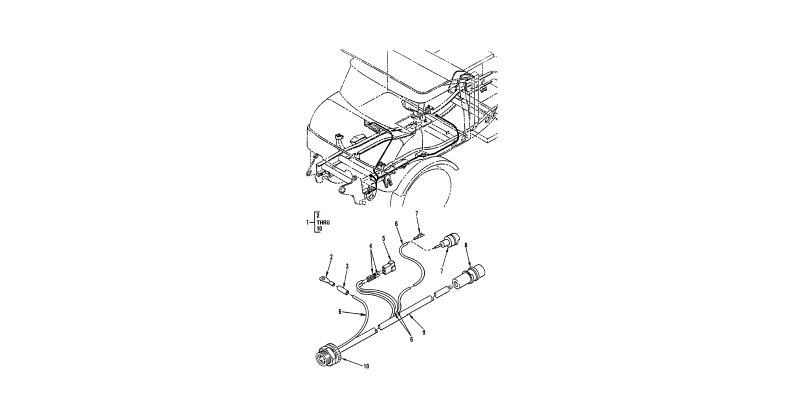 0093 00-2 Figure 92. Hull or Chassis Wiring Harness