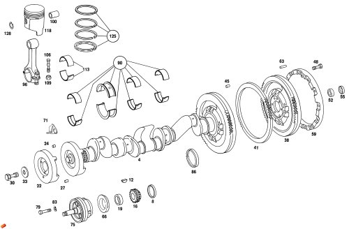 small resolution of home unimog parts 404 engine crankshaft assembly