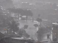 Quito bei Unwetter