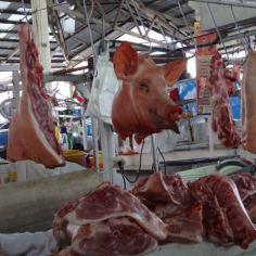 Fleisch gibt es auch