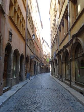 alte Gassen in Lyon