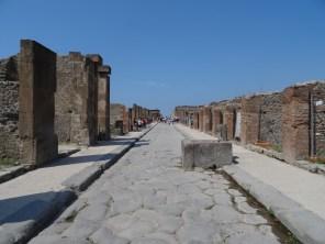 Straße in Pompei