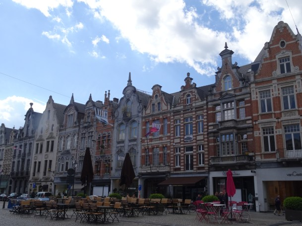 Marktplatz in Mechelen