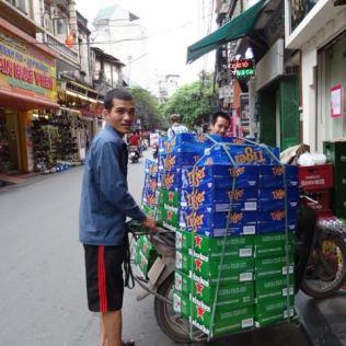 Bier-Lieferung