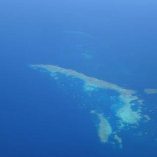 Great Barrier Reef im Landeanflug