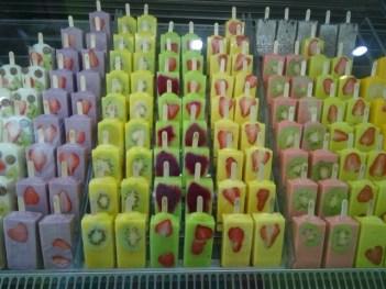 Frucht-Eis auf chinesisch
