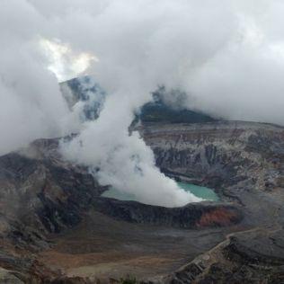 Volcán Poás zeigt sich von der besten Seite