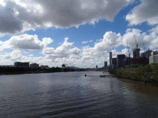 Fluß durch Brisbane