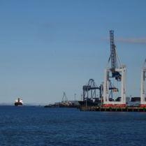 Hafen von Auckland