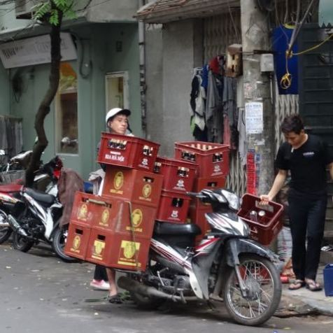 Bier-Transport