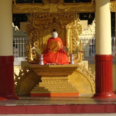 überall Buddha