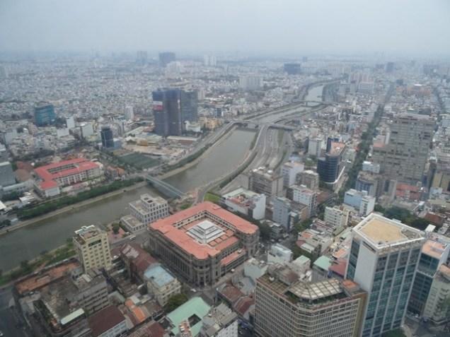 Blick auf die City