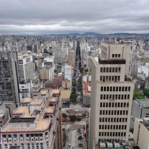 Innenstadt von Sao Pauli