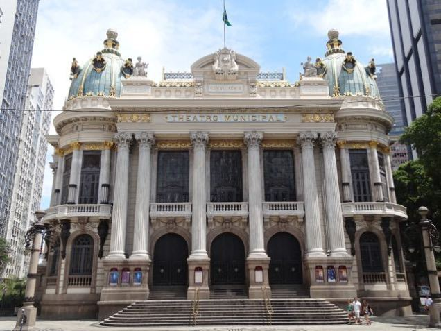 tolle Gebäude in Rio