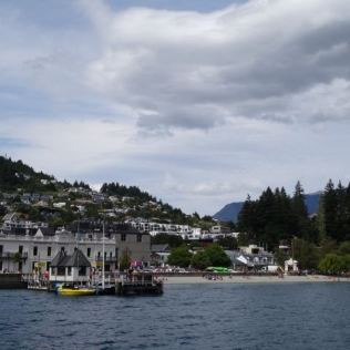 Skyline von Queenstown