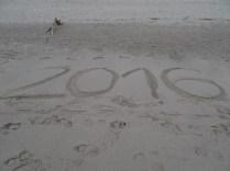 Silvester am Strand