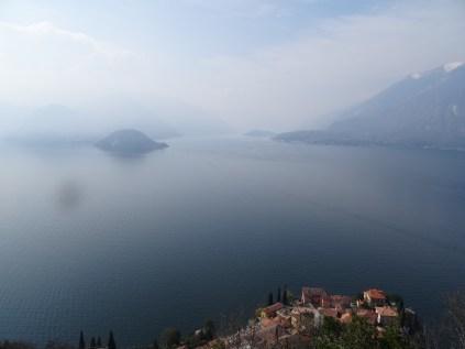 Sicht vom Castello di Vezio