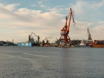 Hafenarbeit
