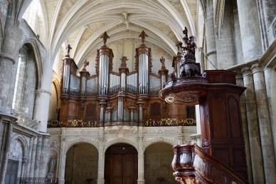 Orgel der Cathédrale Saint-André de Bordeaux
