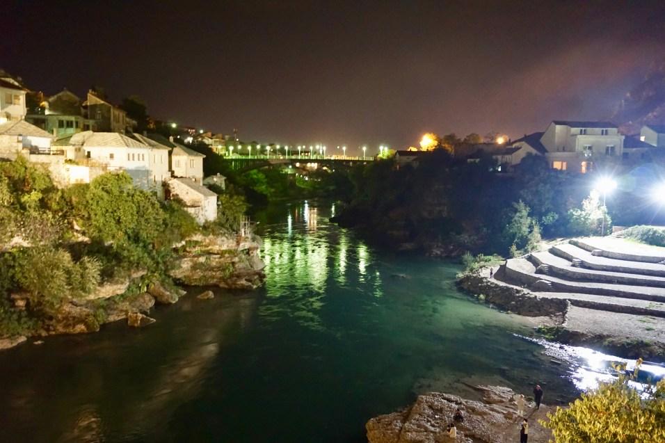 Blick von der Stari most