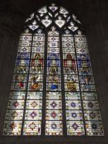einzigartige Fenster im Temple St-Éloi