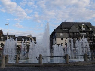 Wasserspiele in Deauville
