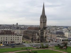 Blick auf Caen