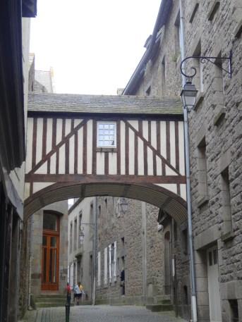 Brücke in St-Malo