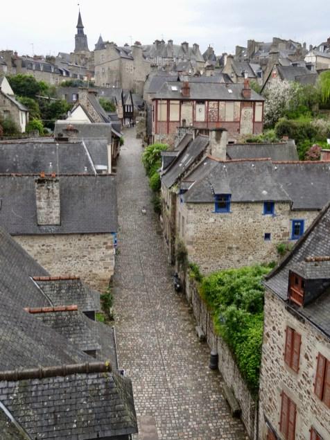 Stadtbild von Dinan