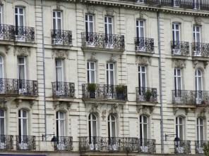 Balkonfassde in Nantes