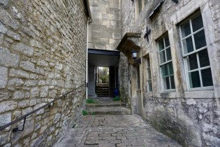 Seitengasse in Bradford-on-Avon