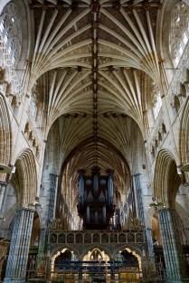Große Orgel der Kathedrale von Exeter