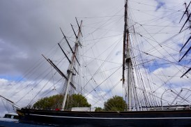 Segelschiff in Greenwich