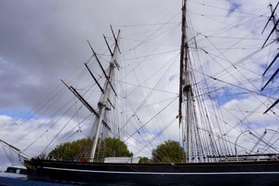 Segelschiff in Greenwich